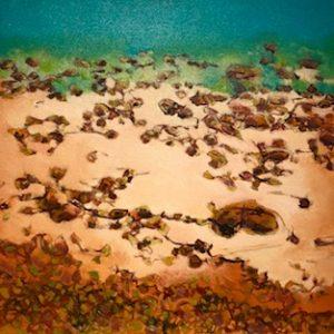 Pindan Coast oil on canvas 44 x 44 cm© Nada Murphy
