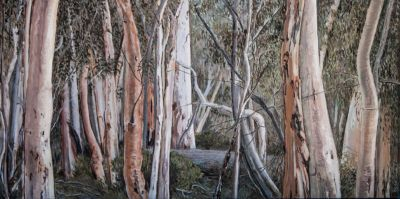 They always bring you home Oil on canvas 60x122 cm ©Nada Murphy